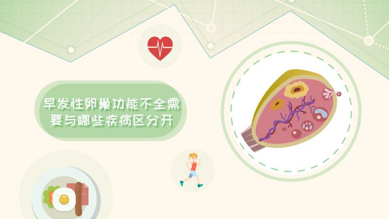 早发性卵巢功能不全需与哪些疾病区分?